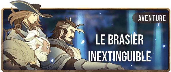 Le Brasier Inextinguible - Bannière - AFK ARENA