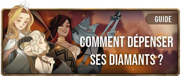Comment dépenser ses diamants - Bannière - AFK ARENA