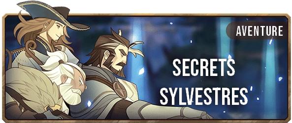 Secrets Sylvestres - Bannière - AFK ARENA