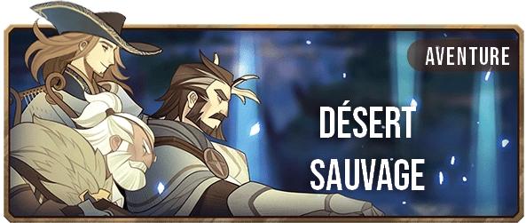 Désert Sauvage - Bannière - AFK ARENA