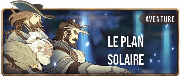 Le plan solaire - Bannière - AFK ARENA