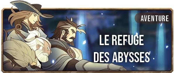 Le refuge des abysses - Bannière - AFK ARENA