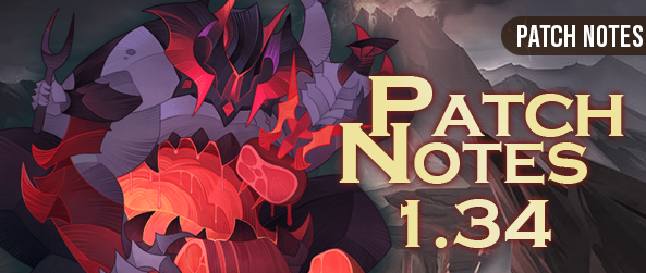 Patch notes 1.34 - AFK ARENA